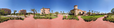 Ohlam Resort Spa Hotels Marrakech Morocco Gardens and Walkways