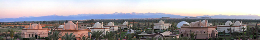 Ohlam Resort Spa Hotels Marrakech Morocco Landscape View